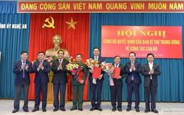 Ban Bí thư chuẩn y 3 Ủy viên Ban Thường vụ Tỉnh ủy Nghệ An