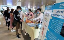 Sân bay Cần Thơ dừng đón khách từ Hàn Quốc về