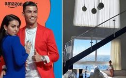 Bên trong dinh thự 7 tầng sang trọng, nơi được Ronaldo sử dụng để cách ly sau khi sinh hoạt chung cùng một đồng đội nhiễm Covid-19