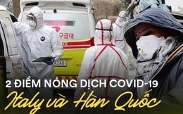 Bùng nổ Covid-19 cùng thời điểm lẫn quy mô, Italy và Hàn Quốc lại chênh lệch lớn về số người tử vong với cách chống dịch khác biệt
