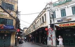 Phố phường Hà Nội vắng người đến lạ lùng vì dịch Covid-19
