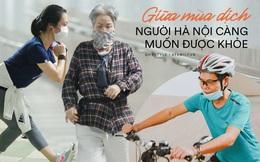 Kỳ lạ giữa Hà Nội mùa dịch: Trên đường vắng tanh, già trẻ, lớn bé rủ nhau xuống hầm tập thể thao nâng cao sức khỏe