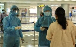 Cận cảnh quy trình kiểm dịch, cách ly Việt kiều từ vùng dịch về Tân Sơn Nhất