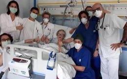 Giữa lúc dịch Covid-19 tăng không ngừng số ca tử vong tại Ý, một cụ bà 95 tuổi đã hồi phục sức khỏe đáng ngưỡng mộ