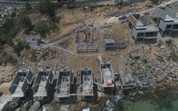 Cận cảnh 2 khu nghỉ dưỡng vừa bị thổi phạt dọc bờ biển Quy Nhơn