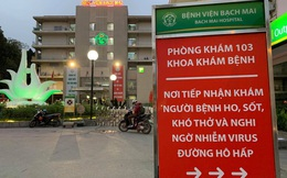 Bệnh viện Bạch Mai đóng cửa cách ly 3 khoa điều trị liên quan ca mắc COVID-19