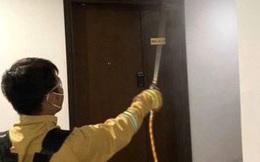Ban quản lý tự ý pha thuốc diệt khuẩn, cư dân chung cư bị dị ứng?