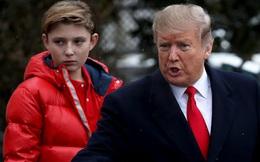 """Tổng thống Mỹ lần đầu chia sẻ cuộc sống của quý tử Barron Trump tại Nhà Trắng trong thời điểm Covid-19: """"Không còn vui vẻ như trước kia"""""""
