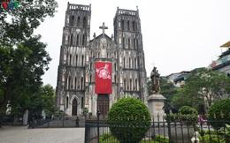 Ảnh: Nhà thờ ở Hà Nội vắng lặng dịp Lễ Phục sinh, tổ chức trực tuyến tránh Covid-19