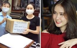 Nữ sinh trường Luật cùng gia đình may 3000 khẩu trang ủng hộ chống dịch