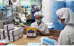 Doanh nghiệp dệt may nhận được đơn hàng dài hạn về khẩu trang