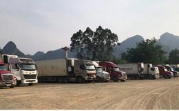 Bắt đầu xuất hiện tình trạng ùn ứ hàng hóa tại các cửa khẩu ở Cao Bằng
