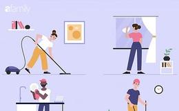 7 công việc tại gia nếu bạn cứ làm đều đặn trong khoảng thời gian giãn cách xã hội thì sẽ giúp duy trì sức khỏe thể chất lành mạnh không khác gì tập gym