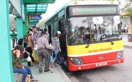 Xe buýt Hà Nội hoạt động 20-30% lượt chuyến từ sáng 23/4