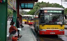 Xe buýt Hà Nội hoạt động trở lại, khách đi vẫn còn thưa vắng