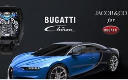 Đồng hồ Bugatti Chiron Tourbillon đặc biệt được trang bị động cơ nhỏ W16