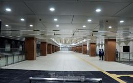 Chiêm ngưỡng nhà ga metro hiện đại đầu tiên dưới lòng đất Sài Gòn