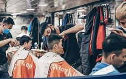 Mở cửa sau khi nới cách ly, cửa hàng cắt tóc hạn chế nhận khách do quá tải