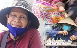 """Cụ bà bật khóc khi vé số ở Sài Gòn được mở bán trở lại sau cách ly xã hội: """"Mừng lắm con ơi, tháng rồi ngoại ở nhà không biết làm gì cả"""""""