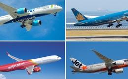 Các hãng hàng không được phép tăng tần suất bay nội địa từ 0h ngày 29/4