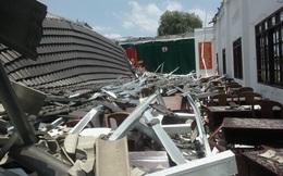 Diễn biến mới vụ sập mái hội trường 250 chỗ ngồi ở Hậu Giang