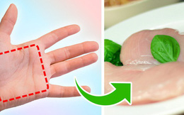 """Quy tắc bàn tay: Công thức """"vàng"""" để đo lượng thực phẩm trong 1 bữa ăn cho mỗi người"""