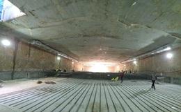 Thi công ga ngầm đường sắt đô thị Nhổn - Ga Hà Nội dưới độ sâu 19 m