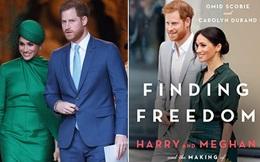 """Hình ảnh đầu tiên về cuốn sách """"nói xấu"""" hoàng gia của vợ chồng Meghan Markle, ngay tiêu đề đã khiến dư luận nổi giận"""