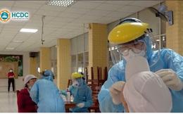 Lấy mẫu xét nghiệm Covid-19 tại công ty TNHH PouYuen