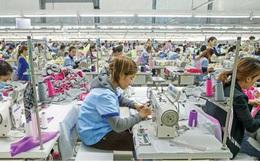 Tháng 4, xuất khẩu dệt may sụt giảm mạnh, tăng trưởng âm
