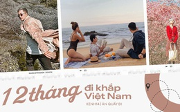 """12 tháng đi hết Việt Nam: Bản đồ du lịch hoàn hảo dành cho những ai """"ngứa chân"""" lắm rồi nhưng chưa biết đi đâu!"""