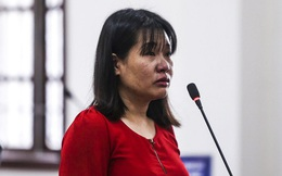 """Nữ giáo viên trong vụ gian lận thi cử ở Hoà Bình: """"Chưa bao giờ bị cáo nghĩ rằng đi chấm thi mà bị đi tù"""""""