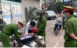 Công an Hà Nội xử phạt gần 1 tỷ đồng vi phạm giao thông ngày đầu ra quân