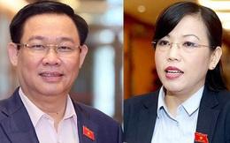 Tổng thư ký Quốc hội nói về việc miễn nhiệm ông Vương Đình Huệ, bà Nguyễn Thanh Hải