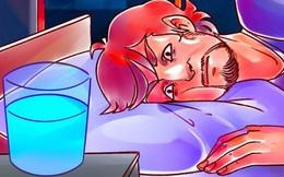 """Tại sao không nên đặt cốc nước cạnh giường """"để sáng mai ngủ dậy uống cho tiện"""" và đây là 5 lý do cực nguy hiểm!"""