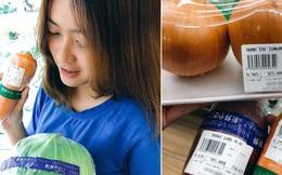 """Lần đầu trải nghiệm siêu thị Nhật tại Việt Nam, cô gái """"sốc"""" trước mức giá rau củ ngoại nhập: Món rẻ nhất cũng từ hàng trăm nghìn trở lên?"""