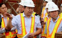 Chủ tịch UBND TP HCM thị sát dự án chống ngập 10.000 tỉ đồng