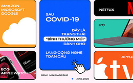 """Sau Covid-19, đây là trạng thái """"bình thường mới"""" dành cho làng công nghệ toàn cầu"""
