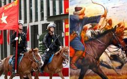Profile siêu xịn của ngựa được đội Kỵ binh cảnh sát cơ động Việt Nam sử dụng: Là ngựa nòi Mông Cổ, thuộc một trong những giống đỉnh nhất thế giới