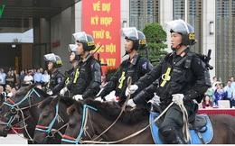Cảnh sát cơ động kỵ binh có thể tham gia vào lễ đón nguyên thủ các nước
