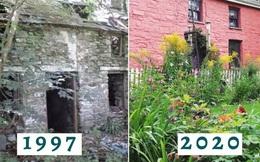 Bỏ 2 triệu mua nhà gạch tồi tàn, người phụ nữ cải tạo suốt chục năm khiến ngôi nhà tăng giá hơn 7000 lần với diện mạo mới đáng kinh ngạc