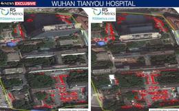 Ảnh vệ tinh phát hiện bất thường ở các bệnh viện Vũ Hán trước khi COVID-19 bùng lên