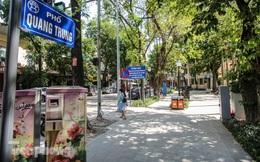 Vườn hoa kiểu mẫu ở quận 'lõi' Thủ đô có gì lạ?