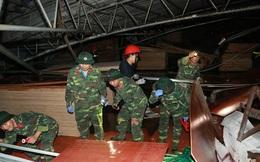 [ẢNH] Hiện trường vụ sập nhà xưởng ở Vĩnh Phúc làm 3 người chết, 18 người bị thương