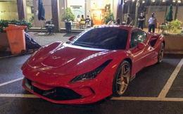 Doanh nhân Nguyễn Quốc Cường và Đàm Thu Trang lần đầu cầm lái Ferrari F8 Tributo xuống phố
