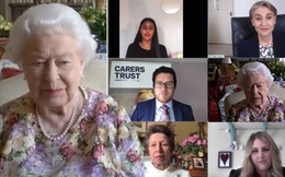 """Nữ hoàng Anh """"gây sốt"""" trong cuộc gọi video trực tuyến đầu tiên với quy tắc đặc biệt, chứng minh đẳng cấp vượt trội"""