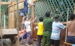 Hàng chục ngôi nhà bị tốc mái sau cơn lốc xoáy ở Hà Tĩnh