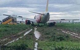 Sự cố máy bay trượt khỏi đường băng Tân Sơn Nhất: Tạm thu bằng lái 2 phi công