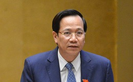 """Bộ trưởng Đào Ngọc Dung đề nghị bỏ khái niệm """"xuất khẩu lao động"""""""