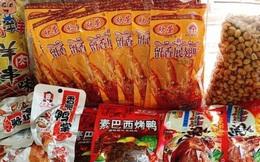 Rộ đồ ăn vặt nội địa Trung trên chợ mạng: Giá rẻ không thiếu thứ gì từ bánh kẹo, nước uống cho tới các loại thịt ăn liền